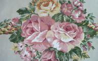 Flower Wallpaper Bathroom 12 Hd Wallpaper