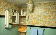 Flower Wallpaper Bathroom 21 Background