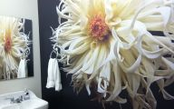Flower Wallpaper Bathroom 27 Cool Wallpaper