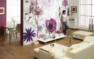 Flower Wallpaper Living Room 24 Desktop Background
