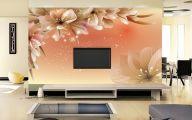 Flower Wallpaper Living Room 26 Background Wallpaper