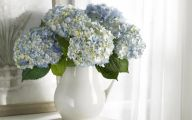 Green Flowers Flower Vase 1 Free Wallpaper