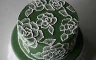 Green Flowers Icing 34 Cool Wallpaper