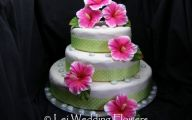 Pink Flowers Cake Decoration 20 Background Wallpaper