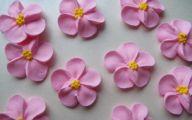 Pink Flowers Cake Icing 15 Cool Wallpaper