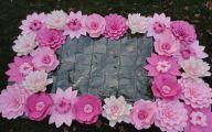 Pink Flowers Wall Decoration 32 Widescreen Wallpaper