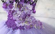 Purple Flowers Dress 1 Cool Hd Wallpaper