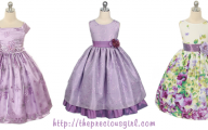 Purple Flowers Dress 17 Desktop Wallpaper
