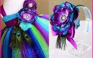 Purple Flowers Dress 31 Background