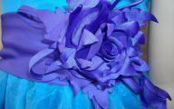 Purple Flowers Dress 7 Widescreen Wallpaper