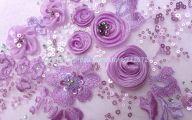 Purple Flowers Dress 8 Free Hd Wallpaper