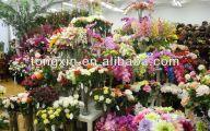 Purple Flowers In Funeral 1 Desktop Wallpaper