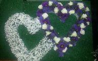 Purple Flowers In Funeral 11 Desktop Wallpaper