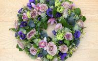 Purple Flowers In Funeral 13 Free Wallpaper