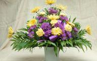 Purple Flowers In Funeral 23 Desktop Wallpaper