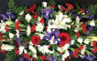 Purple Flowers In Funeral 6 Background