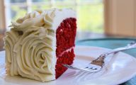 Red Flowers Cake Decoration 26 Cool Wallpaper