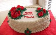 Red Flowers Icing On The Cake 3 Widescreen Wallpaper