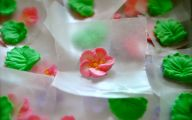 Red Flowers Icing On The Cake 8 Wide Wallpaper