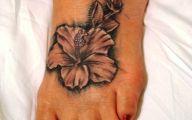Tattoo Black Flowers 2 Cool Hd Wallpaper