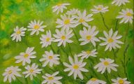 White Flowers Paintings 24 Free Wallpaper