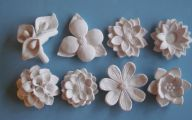 White Flowers Wall Decorations 19 Background