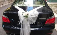 White Flowers Wedding Car 10 Free Wallpaper