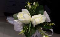 White Flowers Wedding Car 40 Free Wallpaper