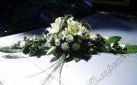White Flowers Wedding Car 8 Cool Hd Wallpaper