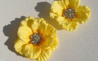 Yellow Flowers Hair Clip 21 Free Wallpaper
