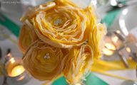 Yellow Flowers In Fabric 18 Cool Wallpaper