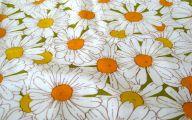 Yellow Flowers In Fabric 20 Desktop Wallpaper