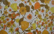 Yellow Flowers In Fabric 4 Desktop Wallpaper