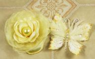 Yellow Flowers In Fabric 6 Cool Wallpaper