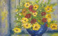 Yellow Flowers Vase 18 Free Hd Wallpaper