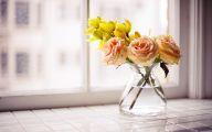Yellow Flowers Vase 24 Hd Wallpaper