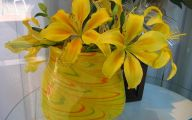 Yellow Flowers Vase 28 Free Wallpaper