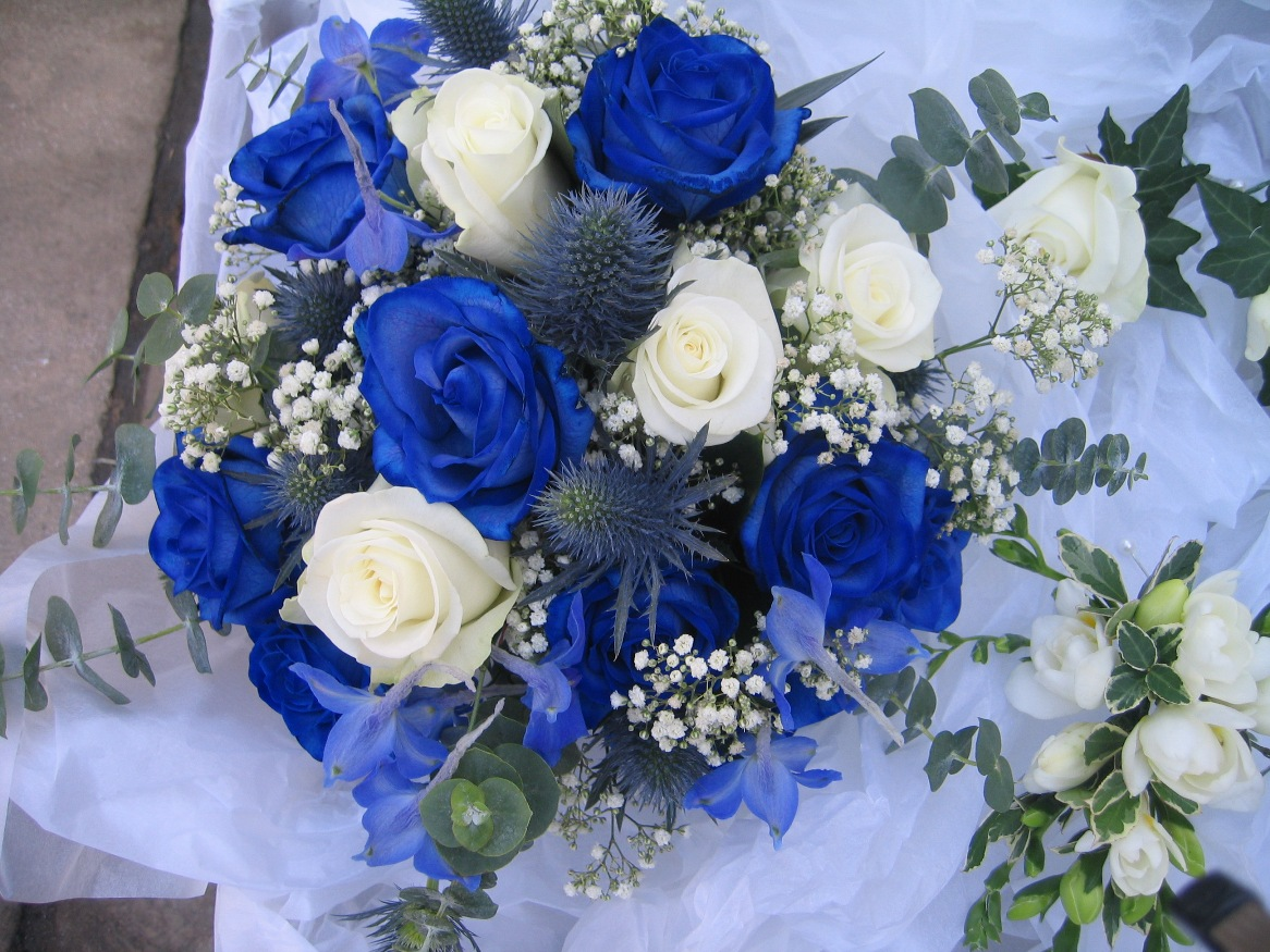 Blue Flowers For Wedding 11 Widescreen Wallpaper Hdflowerwallpaper