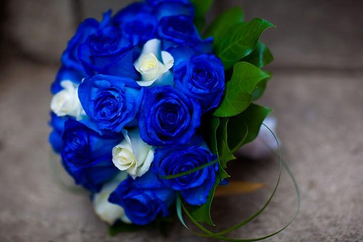 Blue Flowers Bouquet 15 Desktop Background - HdFlowerWallpaper.com