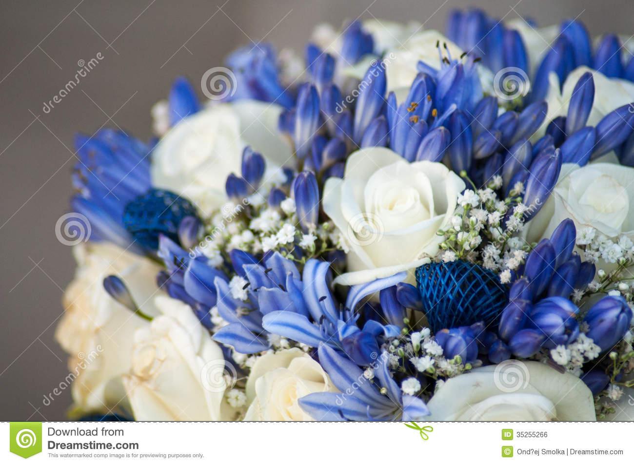 White And Blue Flower Arrangements Images - Flower Decoration Ideas