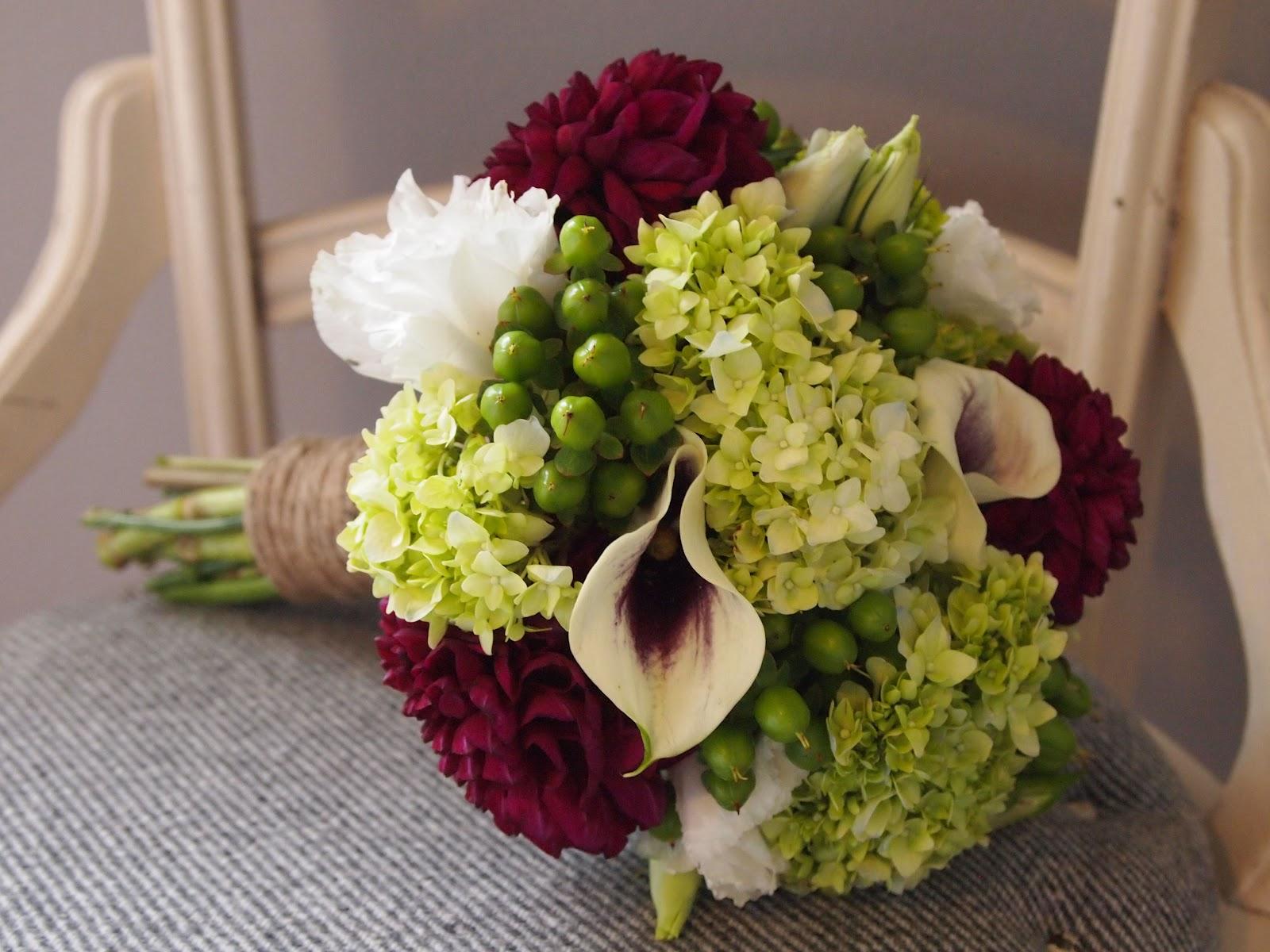 Green Flowers Arrangements 8 High Resolution Wallpaper