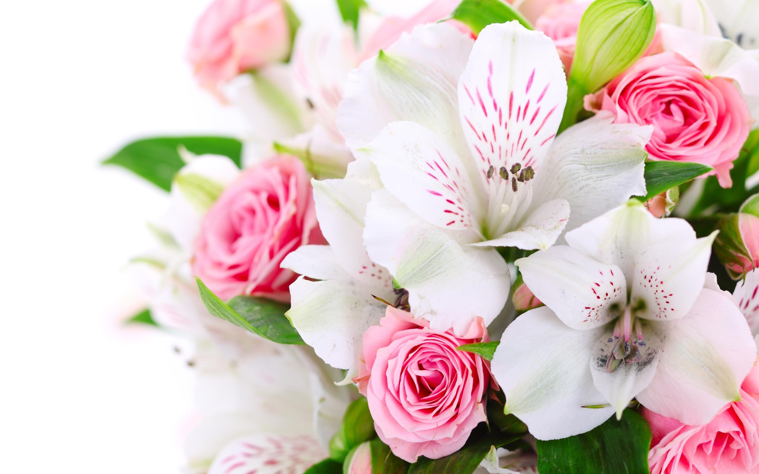 Pink flowers bouquet 27 free wallpaper hdflowerwallpaper pink flowers bouquet hd wallpaper mightylinksfo