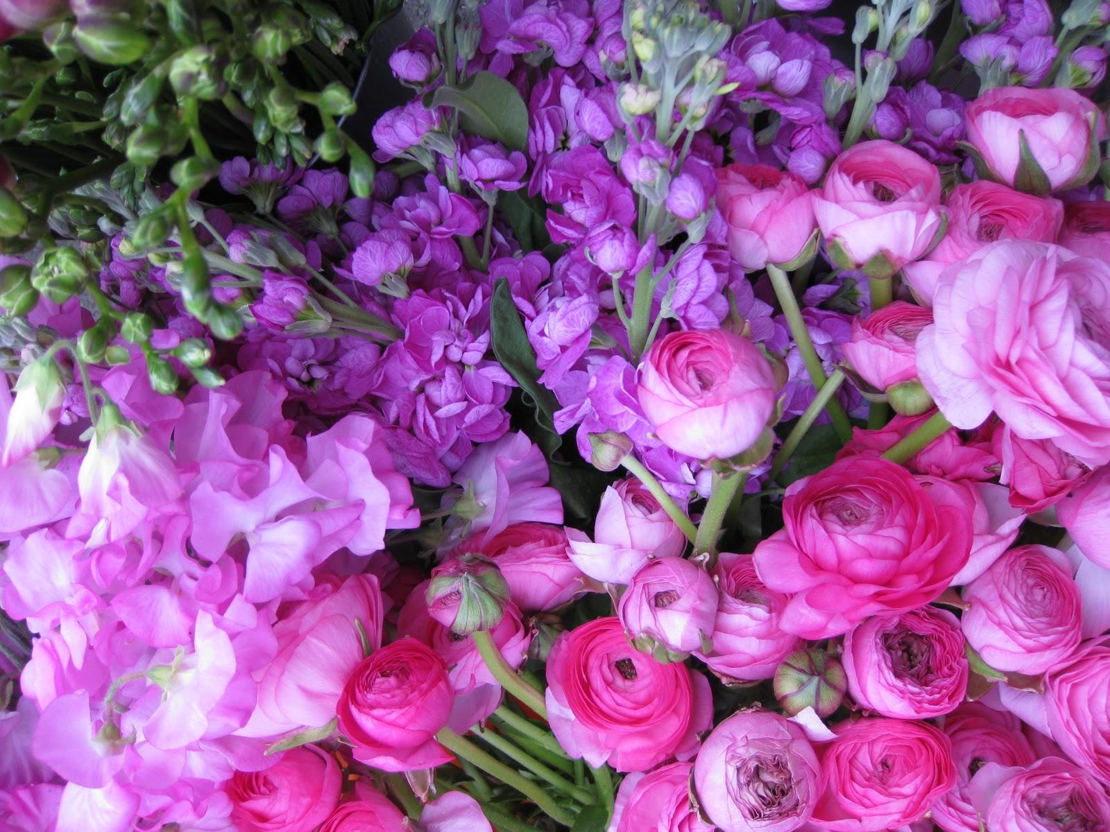 Pink Flowers For Wedding 6 High Resolution Wallpaper