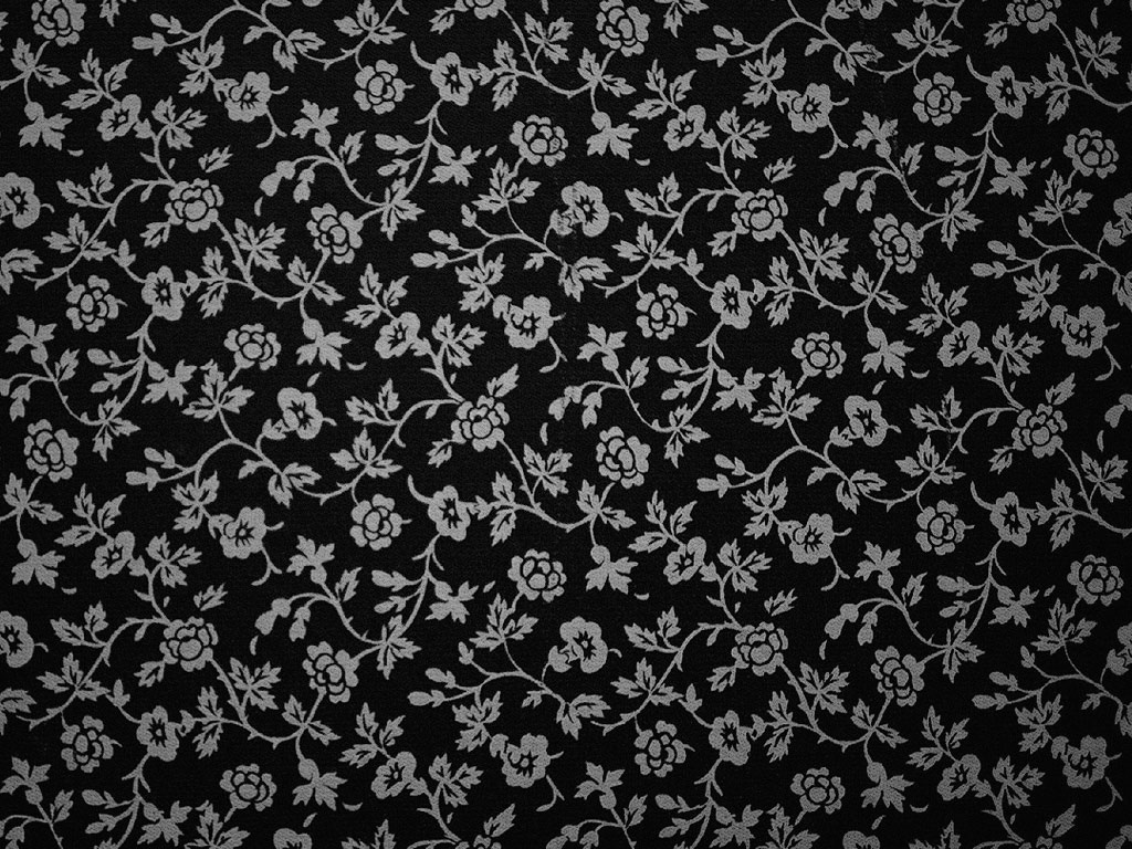 Black And White Floral Wallpaper 17 High Resolution Wallpaper