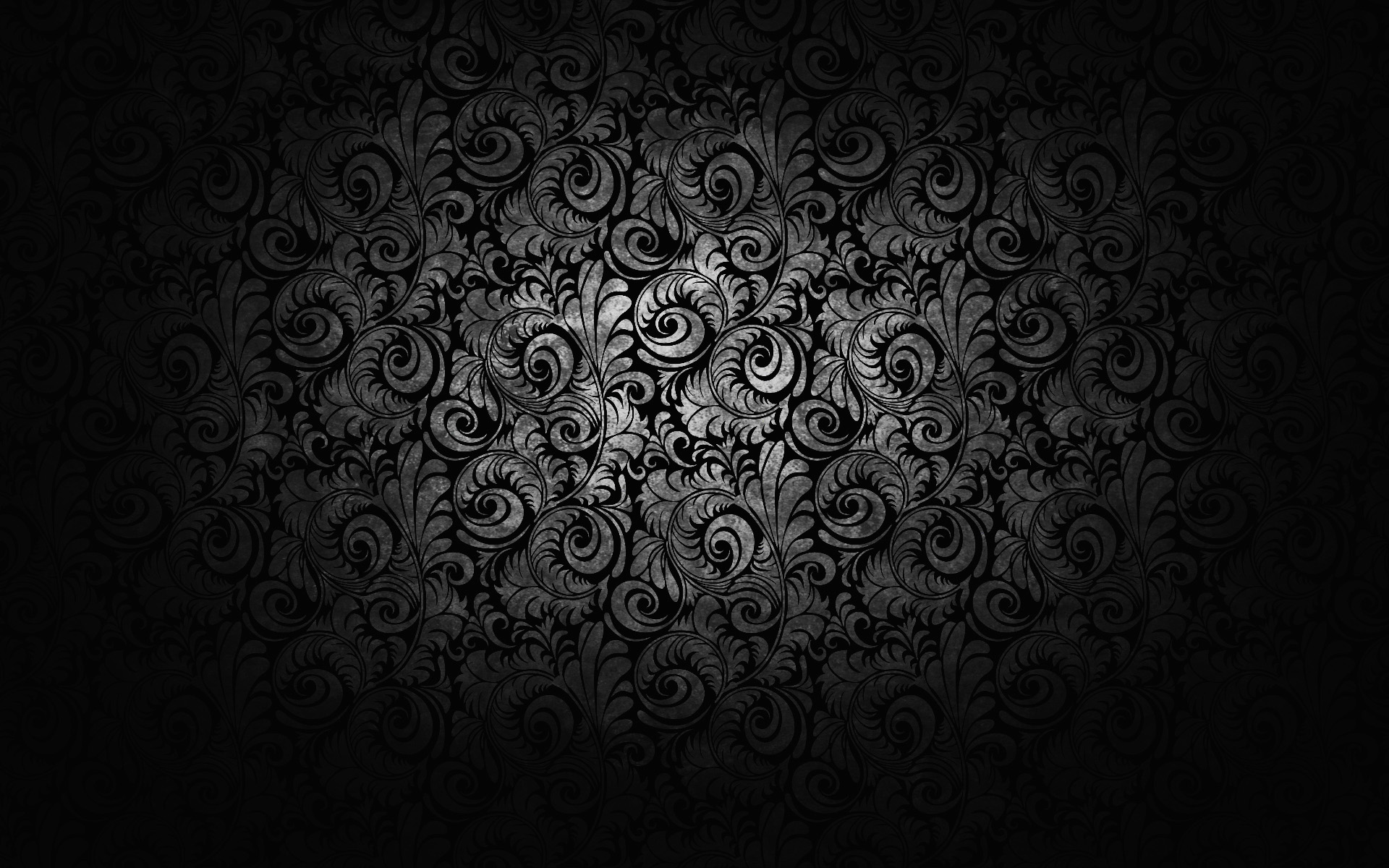Black and white floral wallpaper 6 background - White and black wallpaper ...