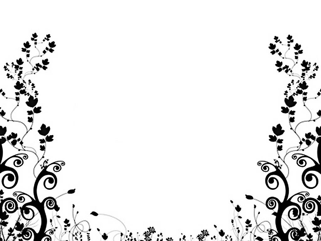 Black And White Flower Backgrounds 2 Desktop Background ...