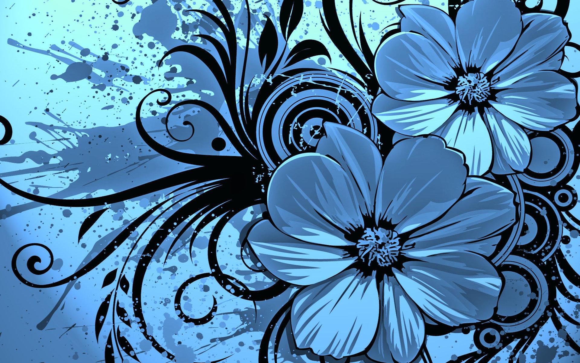 blue flowers hd wallpapers 10 desktop background hdflowerwallpaper com