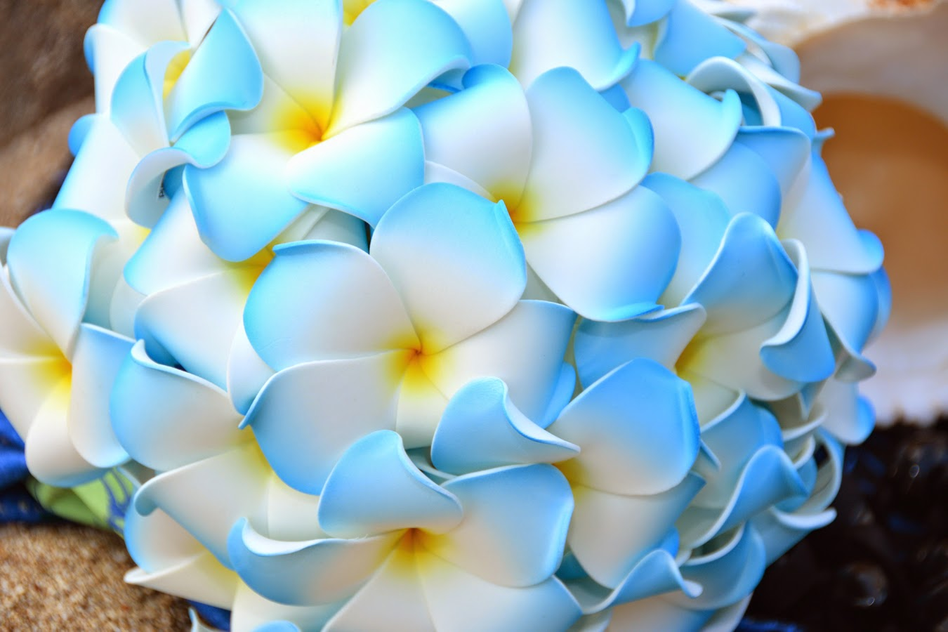 Blue Flowers In Hawaii 30 Wide Wallpaper ...