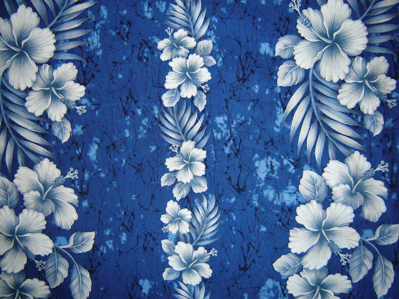 Blue Hawaiian Flowers Background | www.pixshark.com ...