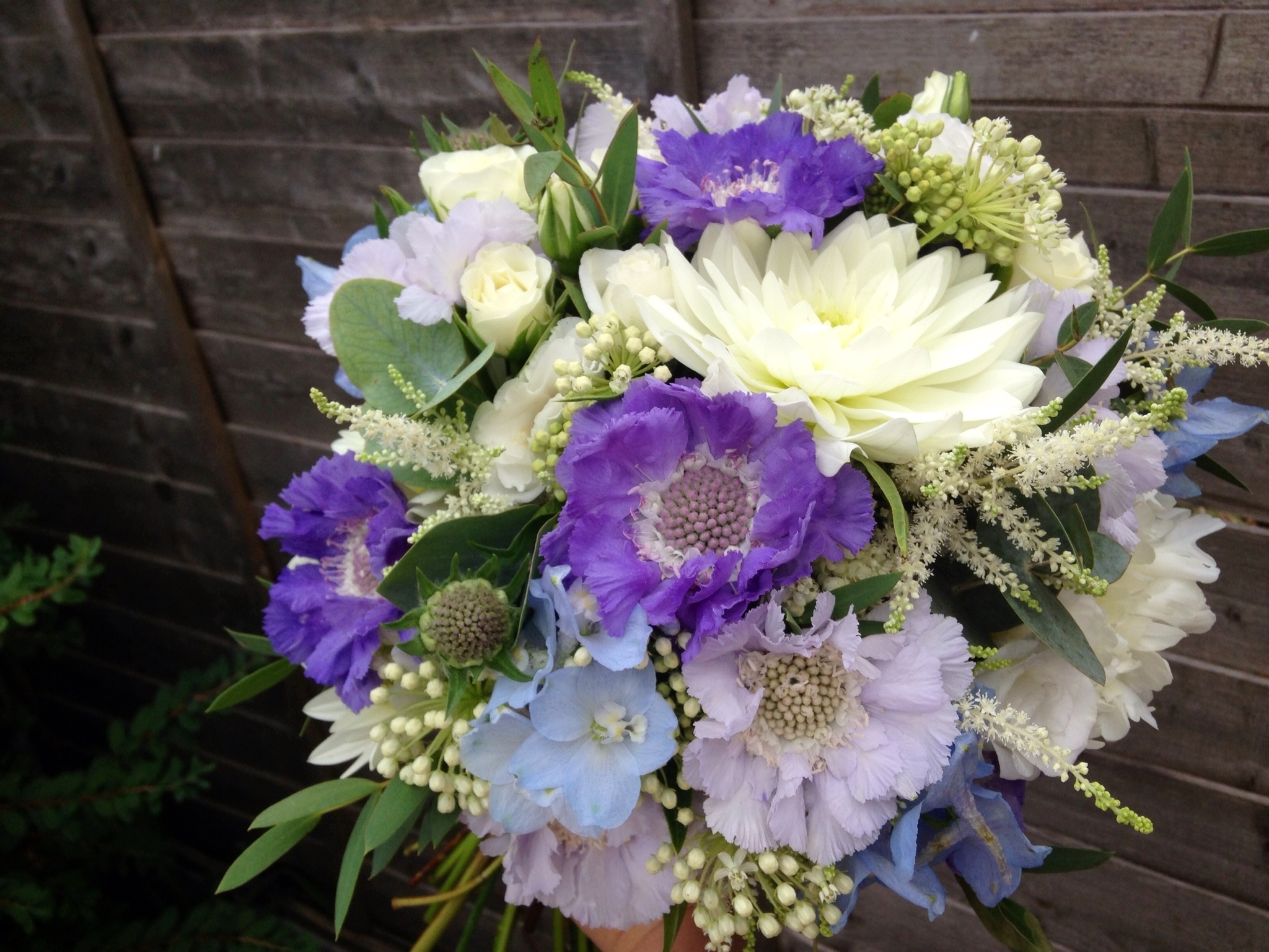 Blue Flowers For A Summer Wedding Flowers Healthy